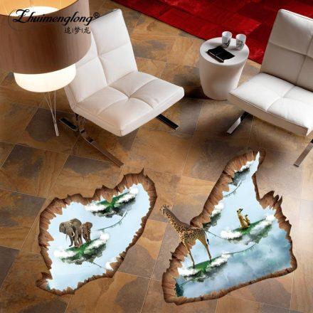 Afrikai álom, 3D padlómatrica