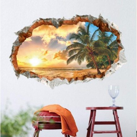Izzó naplemente, faltörő falmatrica a Dekoráció Webáruházban