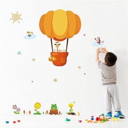Hőlégballonozó állatok