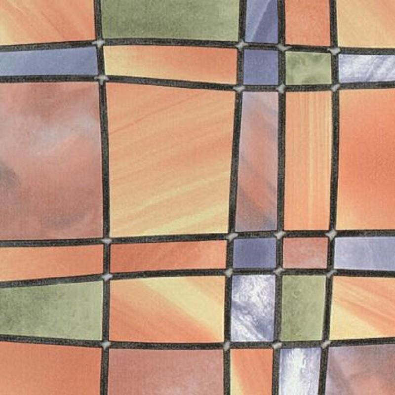 Barcelona sokszínű öntapadós üvegfólia 90 cm széles