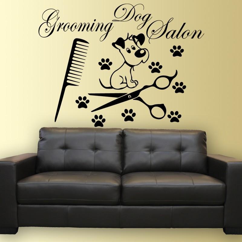 Grooming dog salon, falmatrica 70Sz x 55M cm