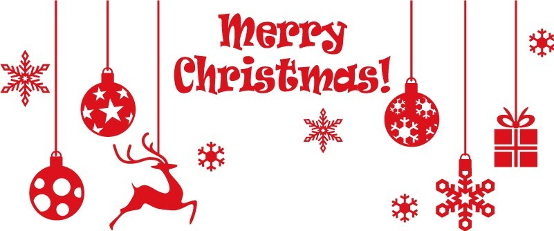 Karácsonyi díszek, kirakatmatrica 150Sz x 61M cm