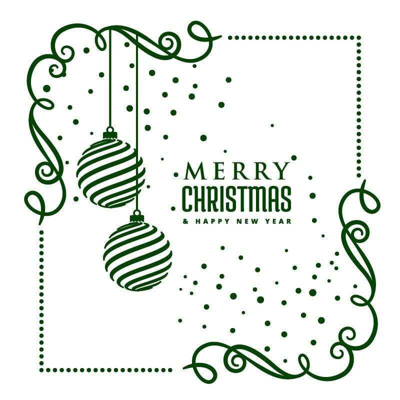 Karácsonyi sarokminta, kirakatmatrica 50Sz x 50M cm