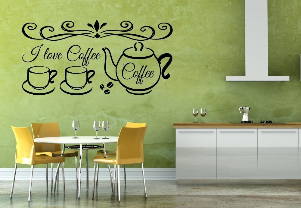 Nonfiguratív I love coffee