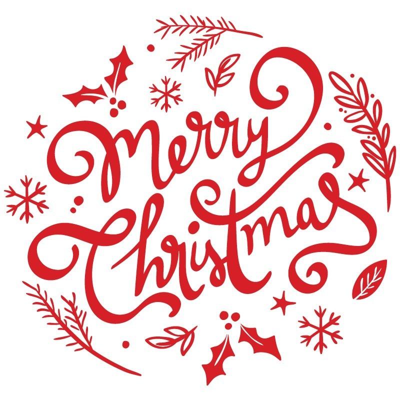 Karácsonyi dekor, kirakatmatrica 80Sz x 80M cm