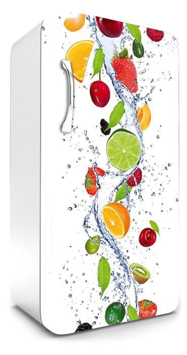 Gyümölcsök, hűtőszekrény matrica, 120 cm