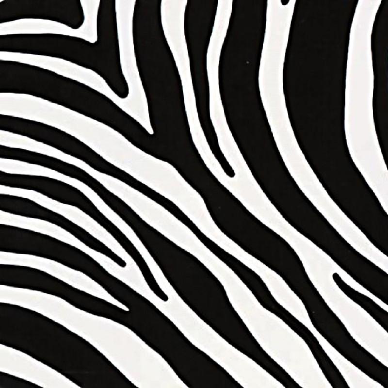 Zebramintás öntapadós tapéta 67,5cm x 15m