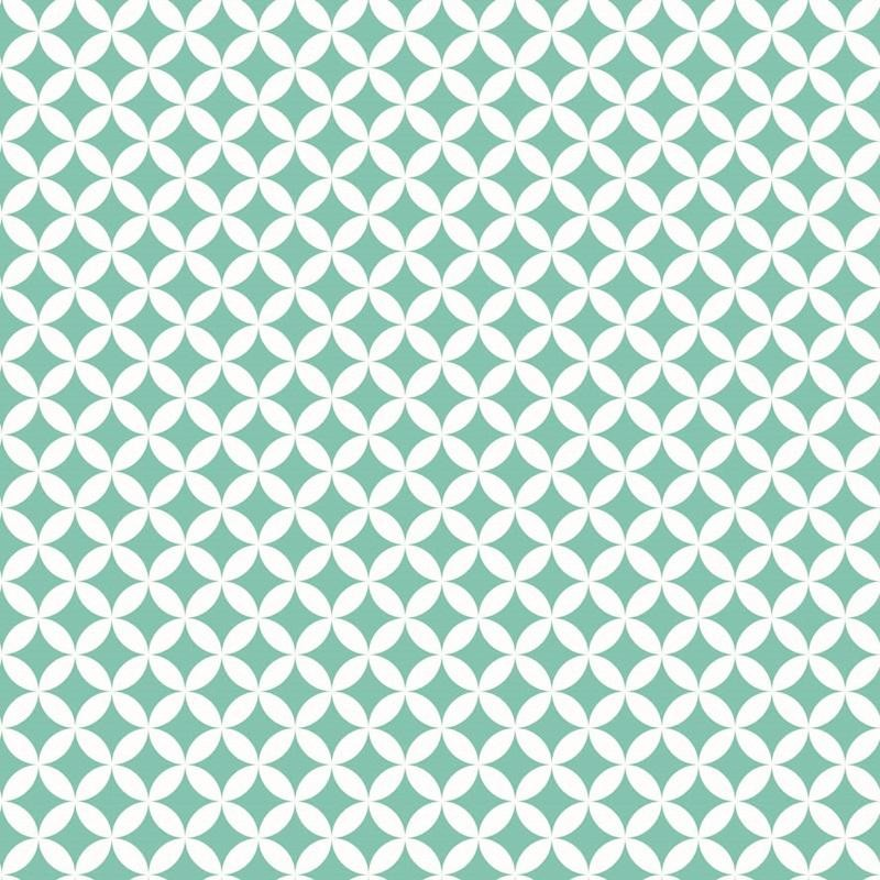 Elliot zöld mintás öntapadós tapéta