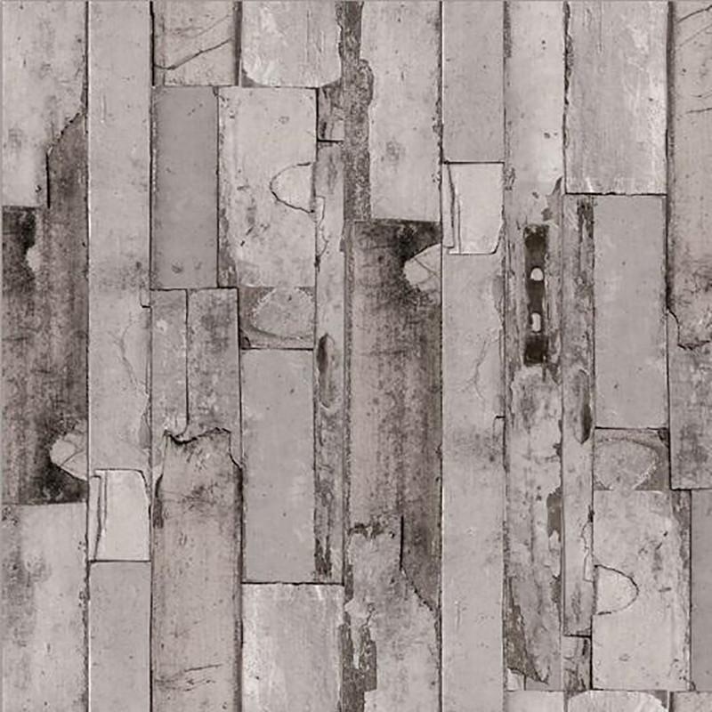 Sötét kopott deszka mintás öntapadós tapéta 90cm x 15m