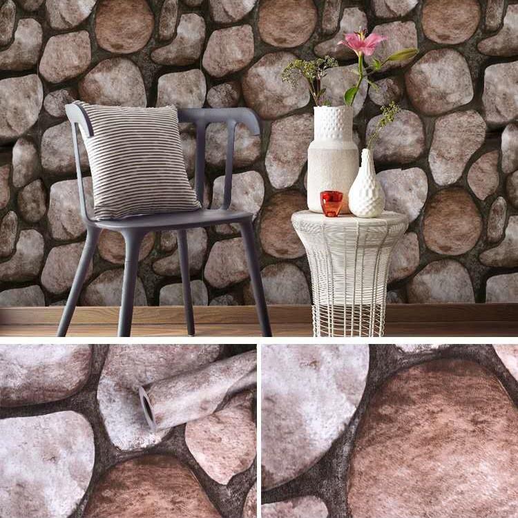 Kőmintás öntapadós tapéta
