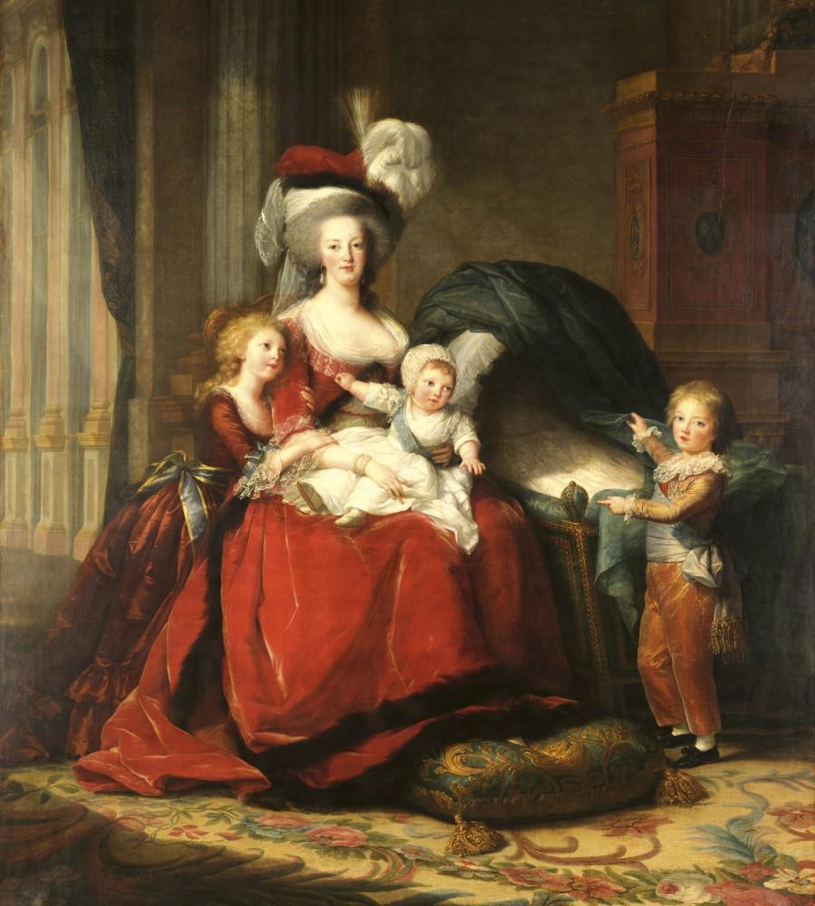 Családi festmény, poszter tapéta 225*250 cm