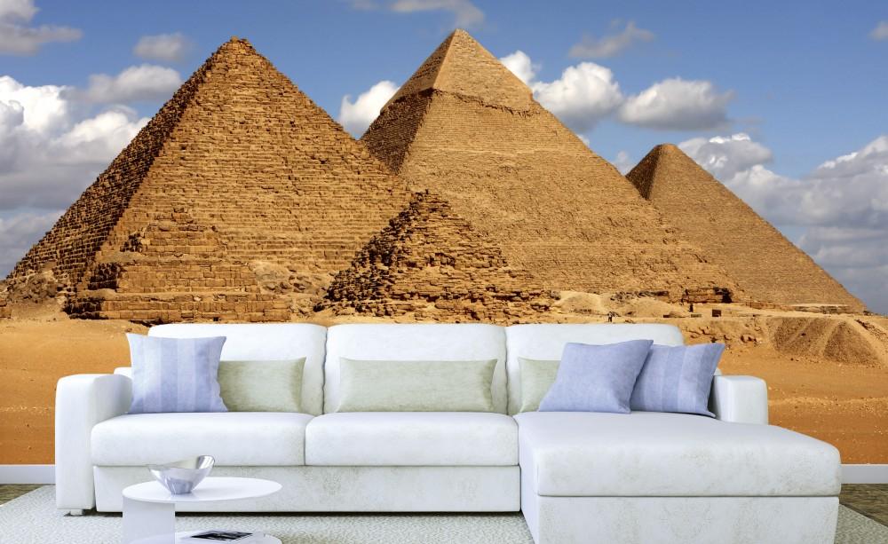 Piramisok, poszter tapéta 375*250 cm