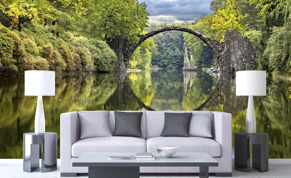 A folyón, poszter tapéta 375*250 cm