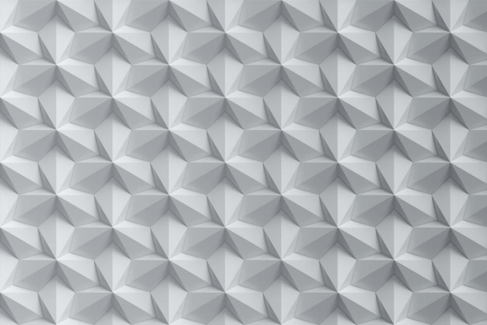 Fehér minta a falon, poszter tapéta 375*250 cm